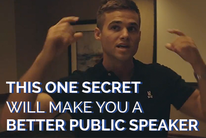 This Secret Will Make You A Better Public Speaker