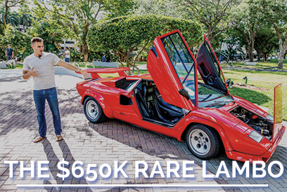 Why This Old Lamborghini Costs 3X More
