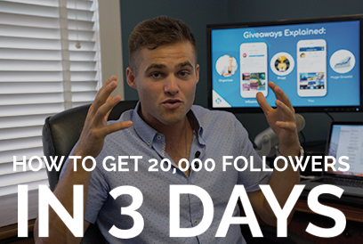 How To Gain 20,000 New Instagram Followers In 3 Days